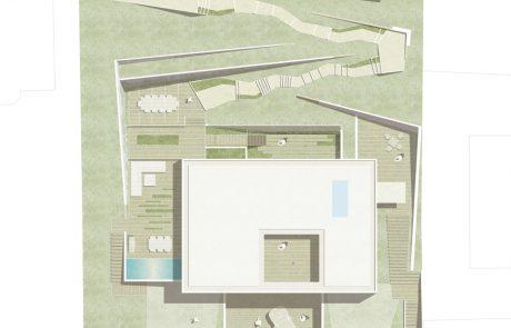 Garten-Lageplan-Variante